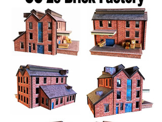 Just Released Today Our Brand New OO Gauge Brick Factory.