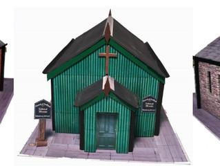 New Release- A trio of Churches