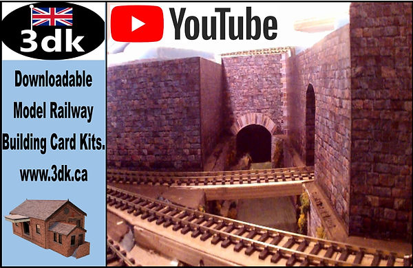 3dk Model Railway OO Gauge and HO Scale Building Kits and