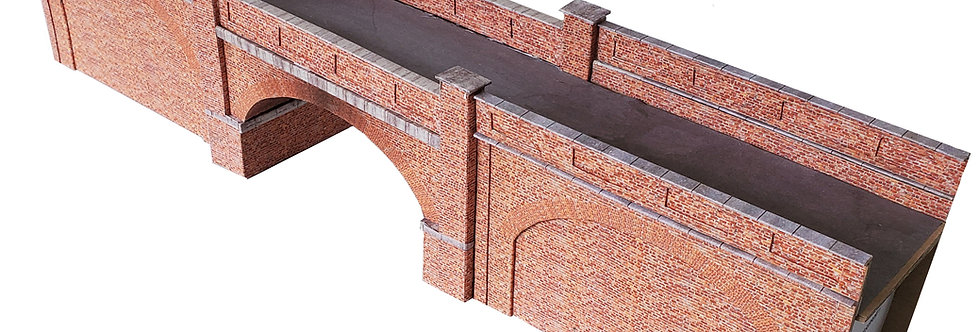 OO-36 Walled Brick Arch Bridge