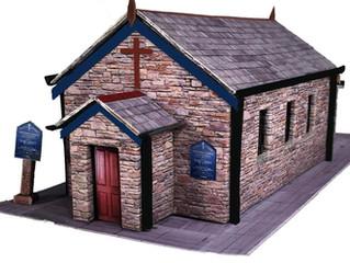 A snapshot of new OO Gauge church kits
