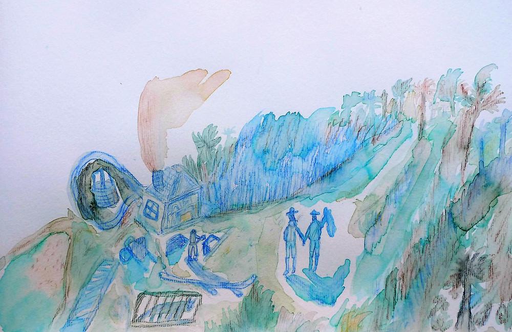 Samuel Sarmiento dibujo