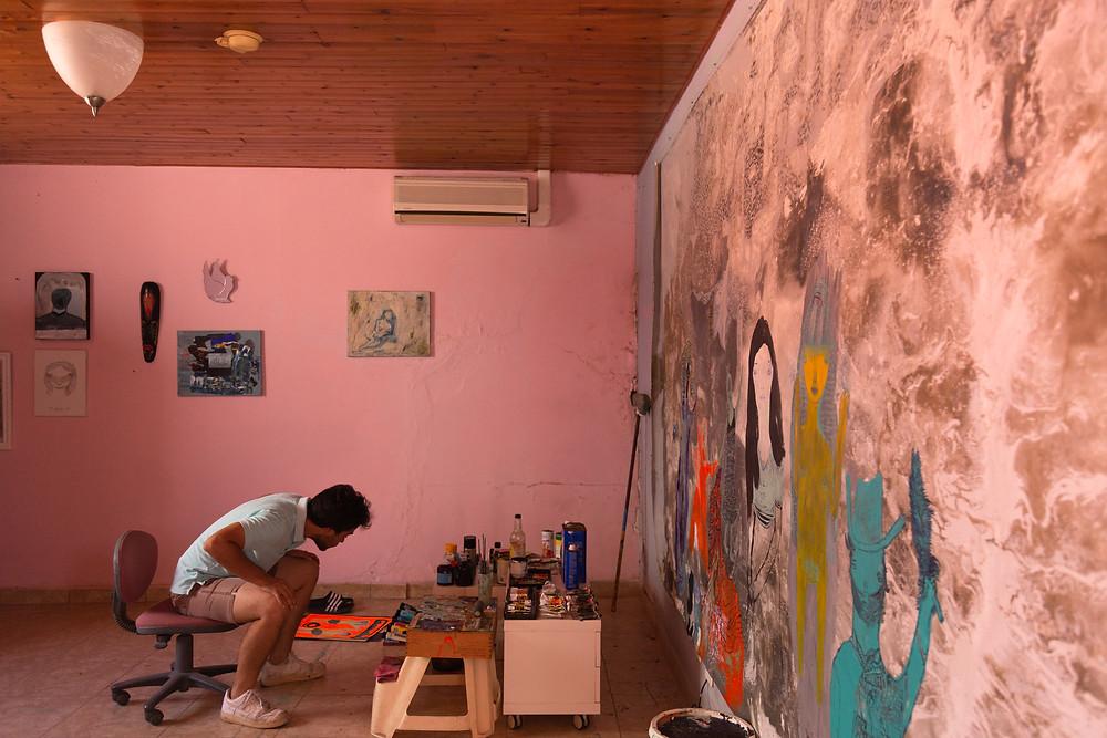 Samuel Sarmiento pintor Aruba