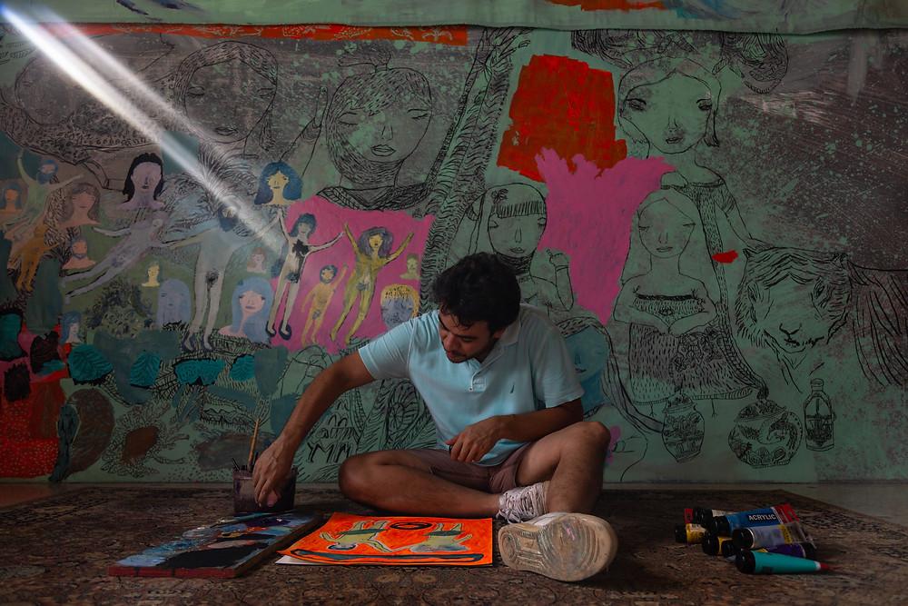 Samuel Sarmiento pintor venezuela