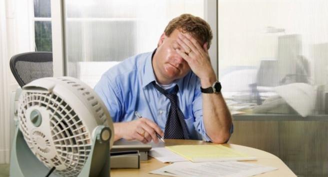 conforto térmico no trabalho (decoração comercial)