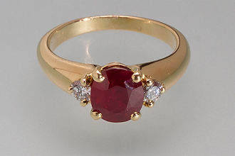 Bijouterie Martin - collection rubis