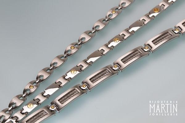 bracelet homme - bijouterie martin