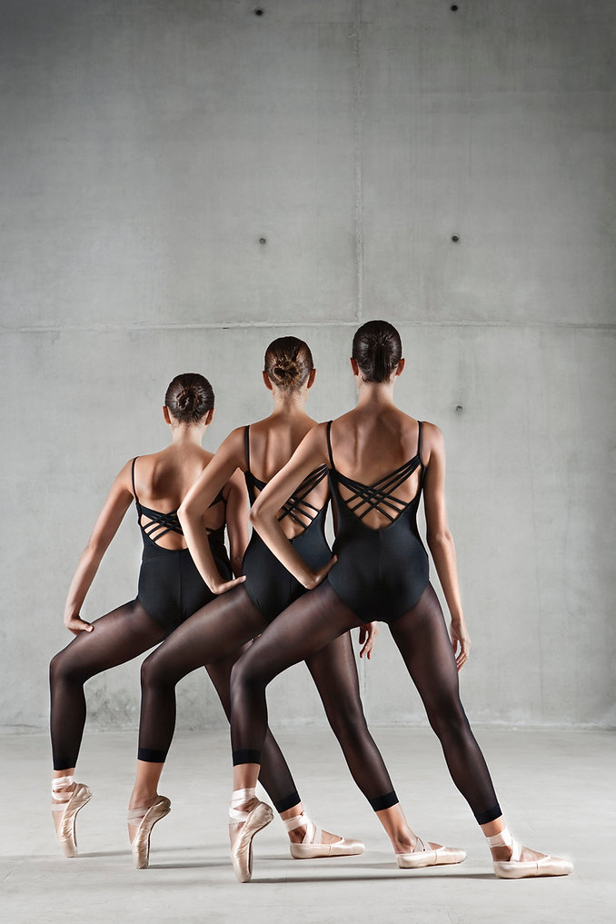 Les danseurs de ballet moderne