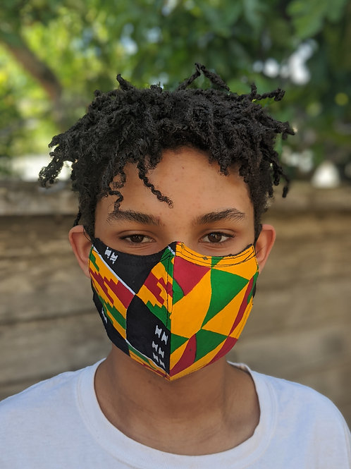 DiasporaStrong Fair Trade Ghanaian Masks (SKU DS13)