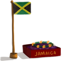 Anya Goes to Jamaica Souvenir
