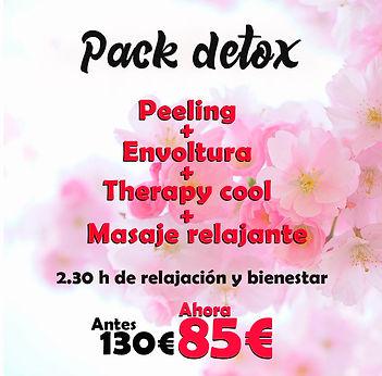 Plan mensual tratamientos Therapy cool masaje dione