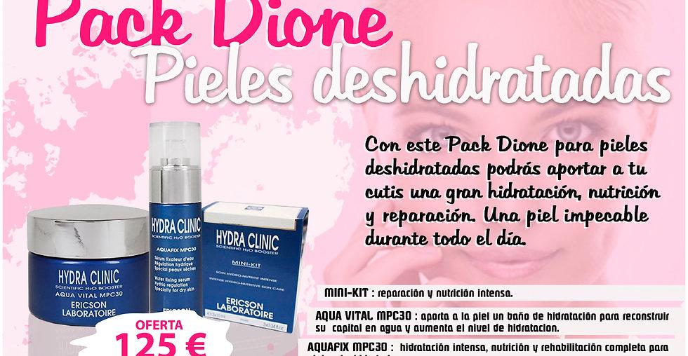 PACK Dione pieles deshidratadas