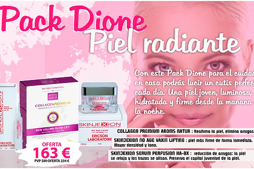 PACK Dione Piel radiante