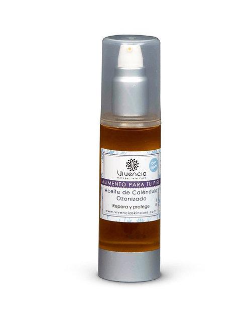 Vivencia aceite de caléndula ozonizado