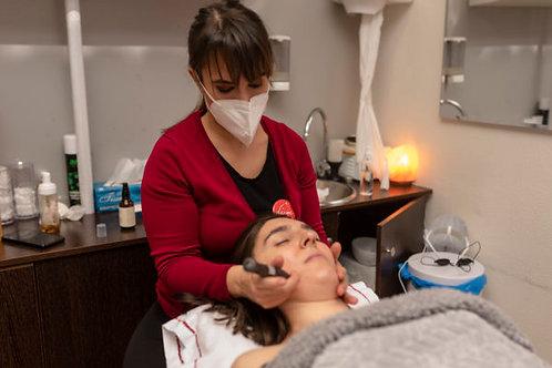 Tratamiento manual facial y aparatología