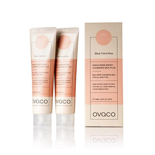 Ovaco Rose Water Cleansing milk 2 x 100 ml