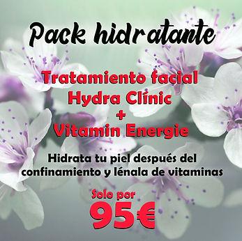 pack tratamiento facial estetica dione