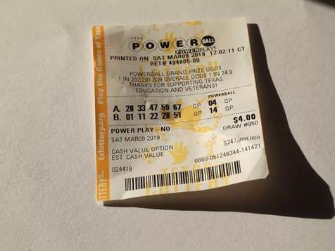 加州女子喜中2600万美元巨奖,彩券却被洗衣机搅烂了