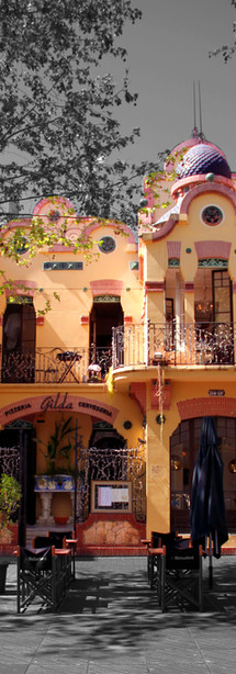 Las casas históricas de la Rambla Principal