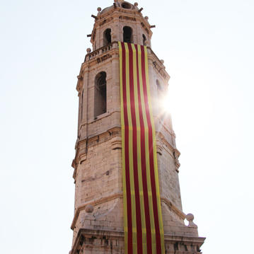 Subida al campanario de Sant Antoni.