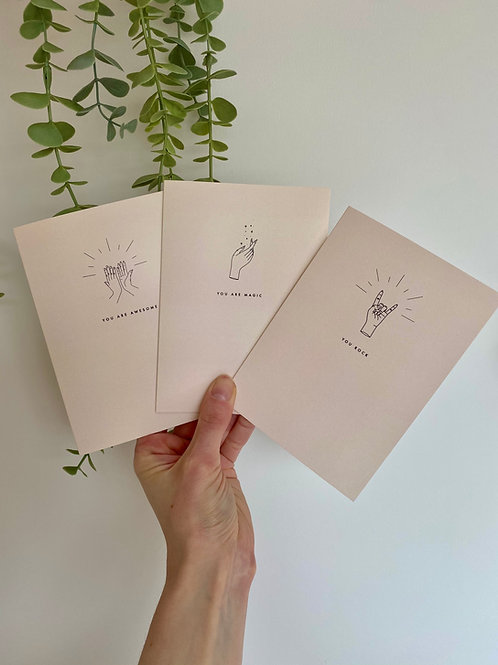 Greetings Card Set