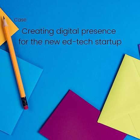Creating digital presence for the new ed