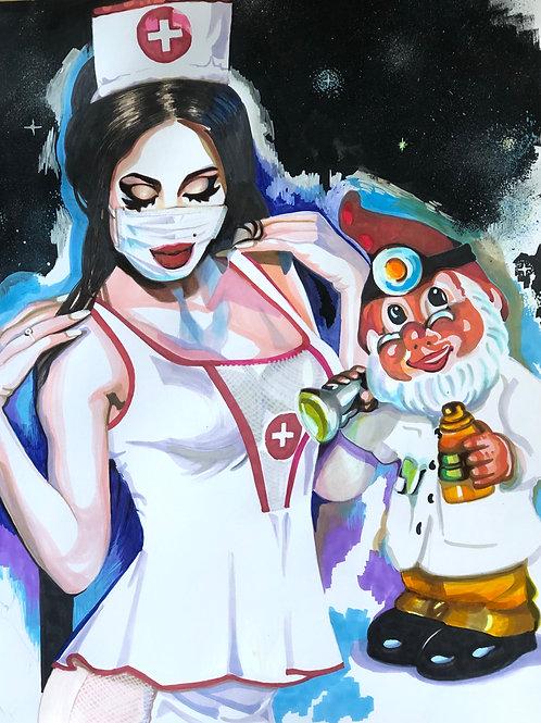 Perla. Infirmière, Nurse 5, 2020