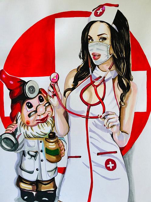 Natalia. Infirmière, Nurse 3, 2020
