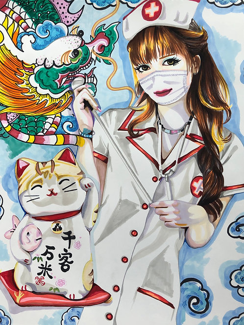 Chan. Infirmière, Nurse 13, 2020