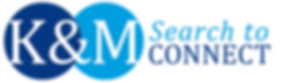 K&M Search to Connect logo