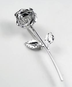 Custom made rose brooch
