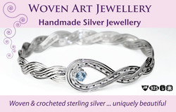 Woven Art Jewellery Business Card