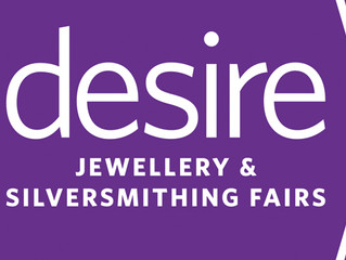 Woven Art Jewellery Exhibiting at Desire Jewellery and Silversmithing Fair, Chelsea 3 - 5 March 2017