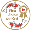 First Choice for Koi round logo
