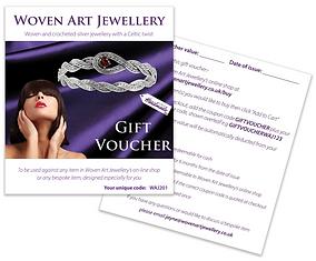 Woven Art Jewellery Gift Voucher