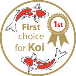 First choice for koi logo design