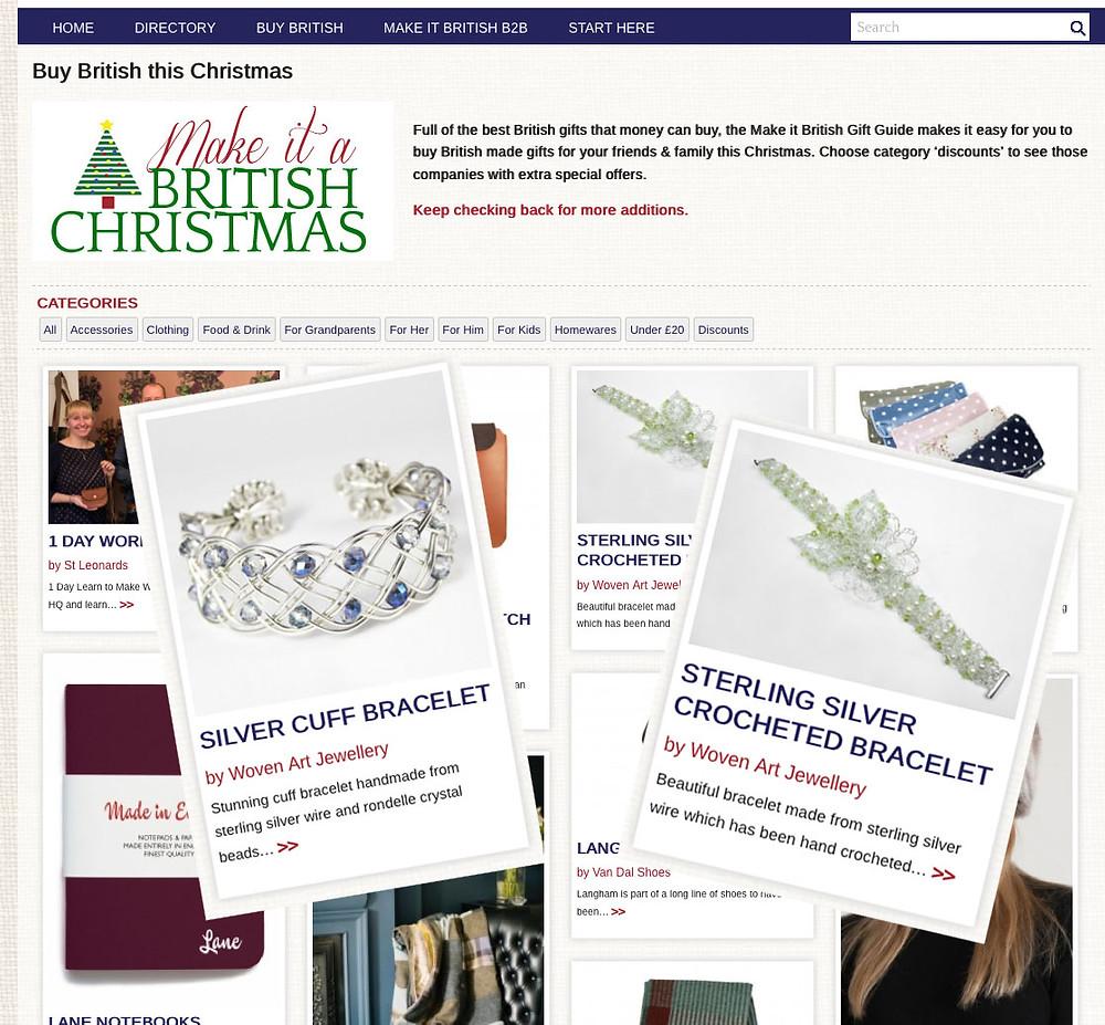 Make it British Christmas Guide 2014 collage.jpg