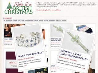"""Make it British"" for Christmas Inspiration"