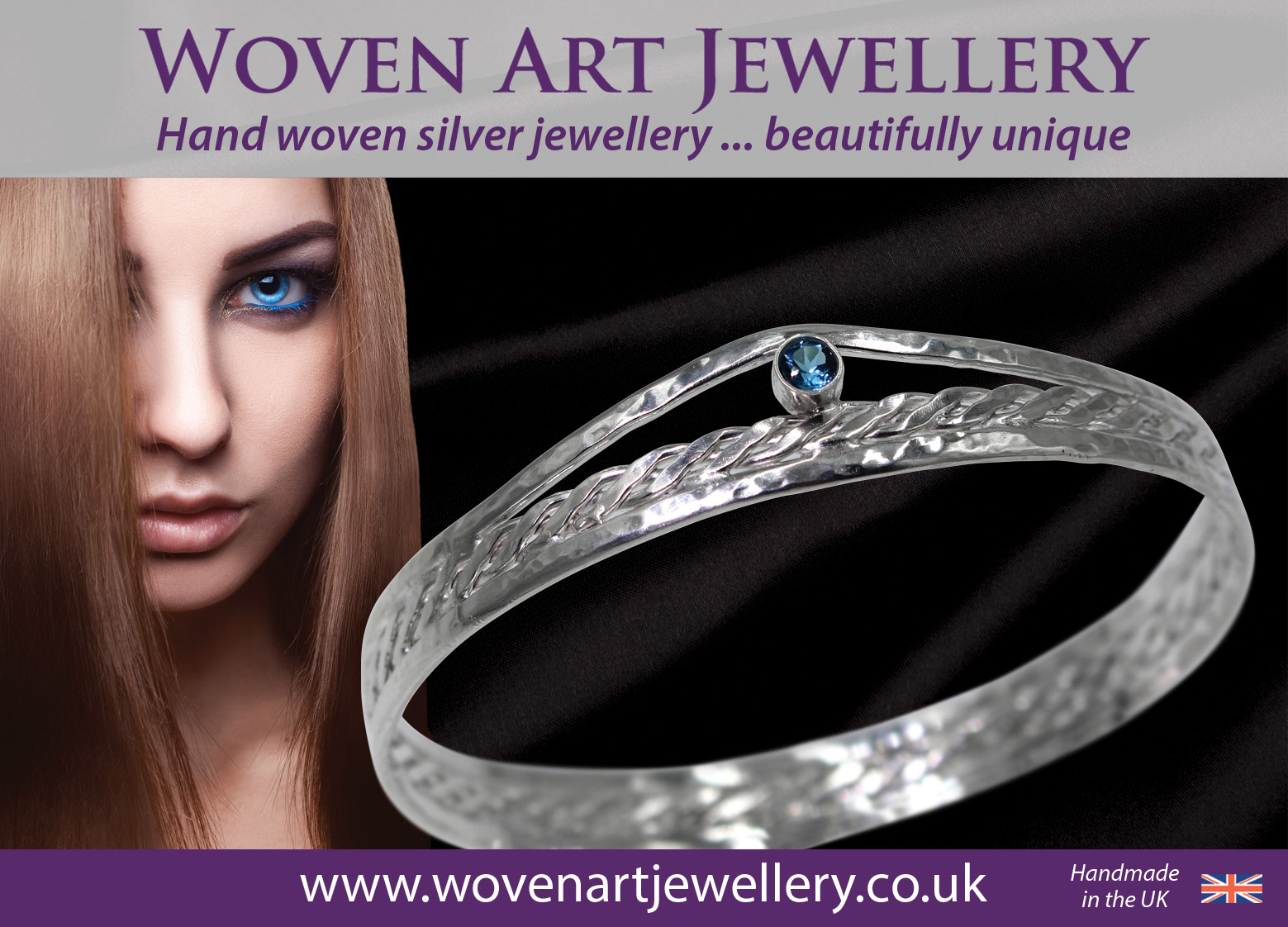 Woven Art Jewellery advert 2