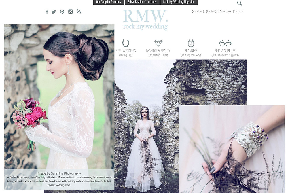 Rock my Wedding Blog Feature - home page collage.jpg