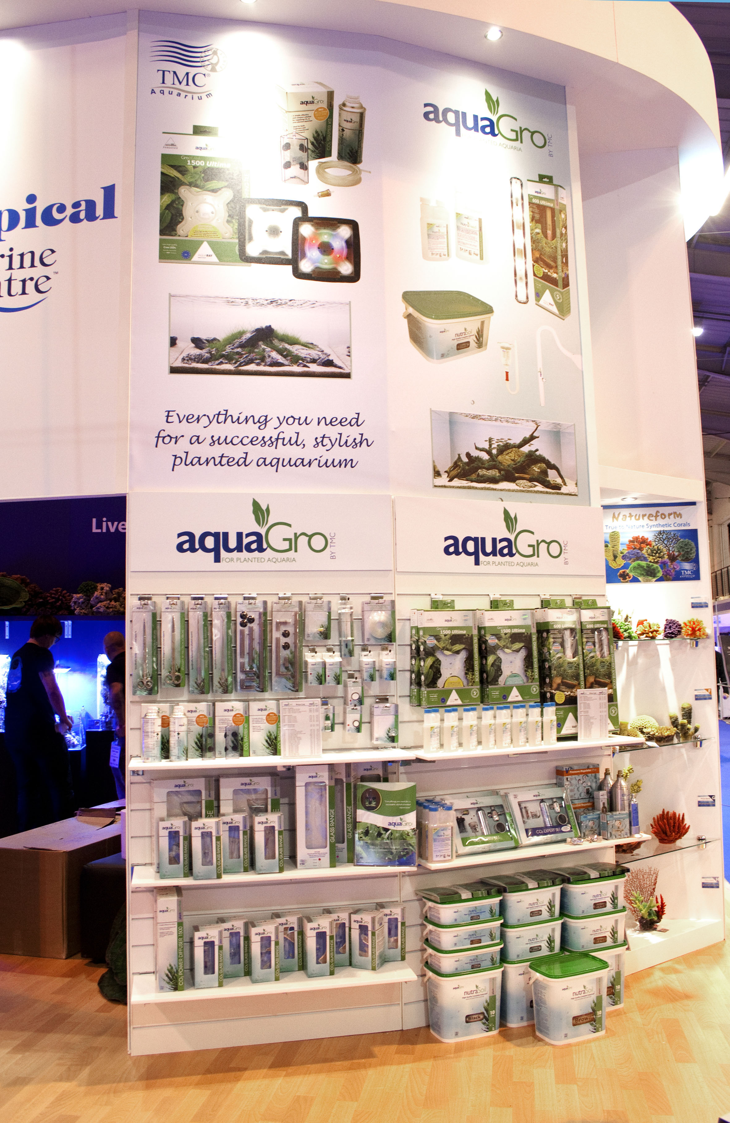 Trade Stand graphics