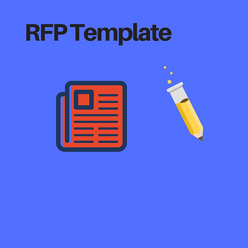Request for Proposal (RFP) Template