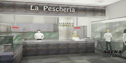 """Rendering """"La Pescheria"""""""