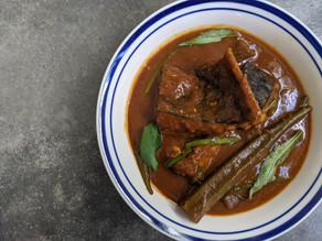 Malay Assam Pedas Ikan Pari (Stingray in Sour-spicy Gravy)