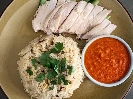 Authentic Hainanese Chicken Rice at Home