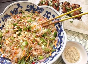 Healthy Thai Glass Noodle Salad