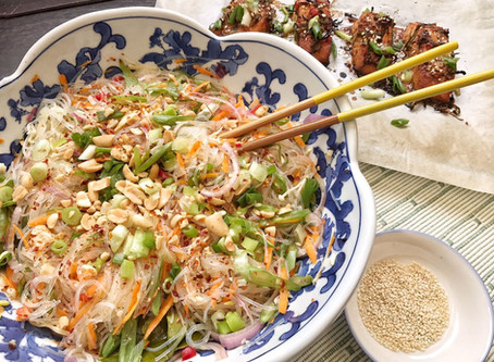 Healthy Thai Glass Noodle Salad