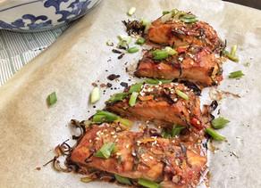 Spicy Thai Baked Salmon