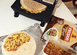 Quick & Easy Tuna Quesadilla