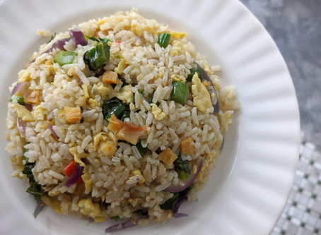 Salted Fish Chinese Fried Rice